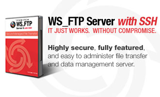 WS_FTP Server with SSH boxshot
